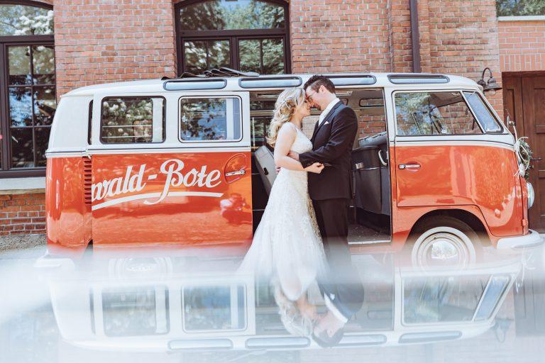VW Bus oldtimer Hochzeit